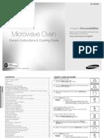 Samsung Microwave Manual - CE108MDF_03900A_XTL-En