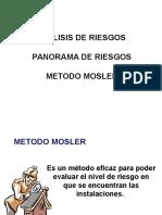 Analisis de Riesgo-método Mosler