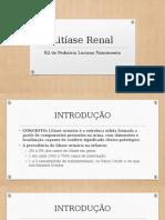 Litíase Renal