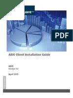 ARIS Client Installation Guide