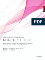 Manual Del Usuario - Monitor Lg