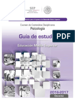 18 Guia de Estudio Ingreso Psicologia educacion media superior
