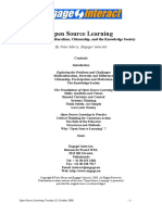 Open Source Learning