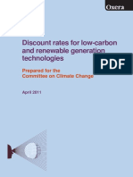 Oxera Low Carbon Discount Rates 180411