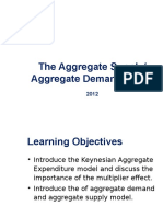 Aggregate Demand and Aggregate Supply 2012