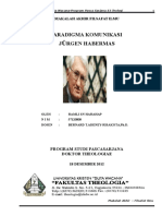 Paradigma Komunikasi Jurgen Habermas