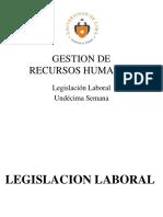 Semana 11 - Legislación Laboral 2015-1 Parte 2