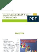 Adolescencia y La Comunidad