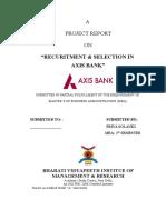 AXIS BANK (H.R.)
