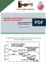 12. Psicobiología de La Percepción, Conciencia y Atención
