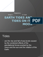 Earth Tides and Tides on Its Moon (2)