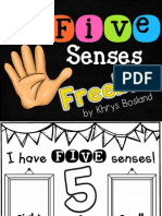 FiveSensesFREEBIEScienceActivitiesInteractiveandEngagingCCSS