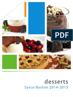 Sysco Desserts