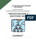 Negociacion y Gestion Del Cambio1