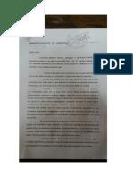Ampliación de denuncia contra Michetti