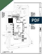 Site Plan Jensen Residence