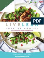 LiveLean Recipe eBook Aug 2016
