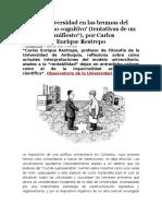 La Universidad en Las Brumas Del Capitalismo Cognitivo [361613]