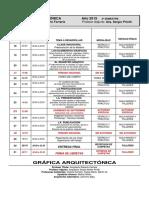Gráfica Arquitectónica - Cronograma - 2015 [1]