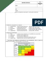 Matriz de Riscos - Formulário