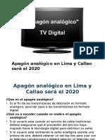 Apagón Analógico en Lima y Callao
