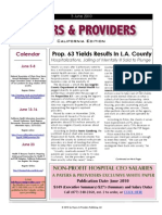 Payers & Providers – Issue of June 3, 2010