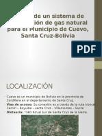 Diseño de Un Sistema de Distribución de Gas