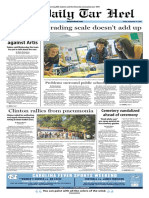 The Daily Tar Heel for Sept. 16, 2016