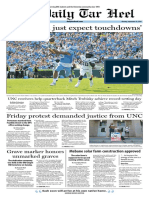 The Daily Tar Heel for Sept. 19, 2016