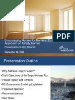 Vacancy Tax Presentation