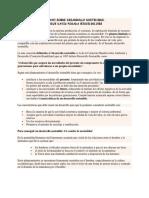 Enzayo Sobre Desarrollo Sostenible