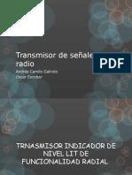 Transmisor de Señales Por Radio