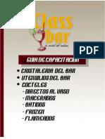 Guia de Capacitacion Seminario de Cocteleria