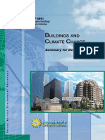 UNEP Building and Climate Change. Summary for Decision-makers