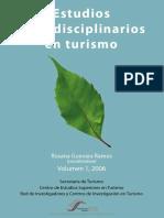 Estudios Multidisciplinarios en Turismo