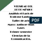 El París de Toulouse Lautrec