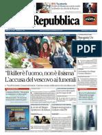 La Repubblica - 31 Agosto 2016