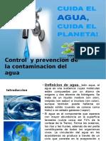 Control y Prevencion de La Contaminacion Del Agua