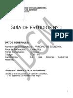 Guia de Estudio No 1 de Princ. de Econ. Segun Trimestre 2013