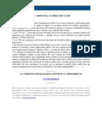 Fisco e Diritto - Corte Di Cassazione Ordinanza n 8796 2010