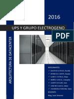Ups y Grupo Electrogeno