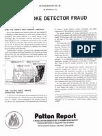 Smoke Detector Fraud