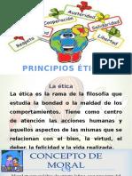 Principios de La Etica