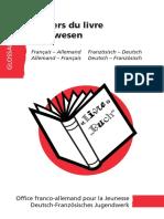 Lexique FR-DE_Métiers Du Livre_OFAJ