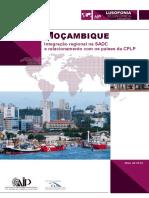 6 - Moçambique, África Do Sul, Sadc - Cplp