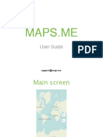Maps.me User Guide 3.0