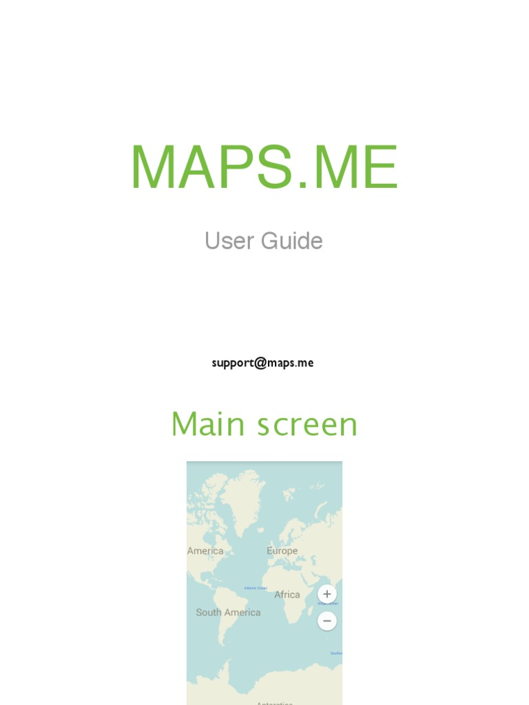 Maps me User Guide 3 0   Mobile Software   Mobile Computers