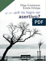 ¿Por Qué No Logro Ser Asertivo (7a. Ed.)
