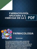 Farmocología Aplicación