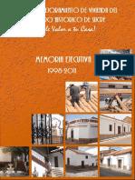 Sucre Memoria Plan de Vivienda 1998-2011